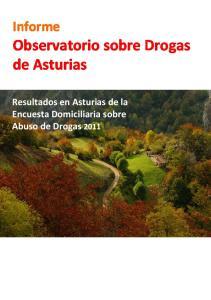 Observatorio sobre Drogas de Asturias