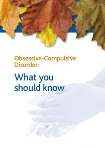 Obsessive-Compulsive Disorder: What you should know