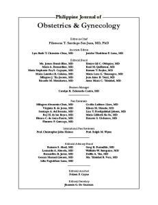 Obstetrics & Gynecology