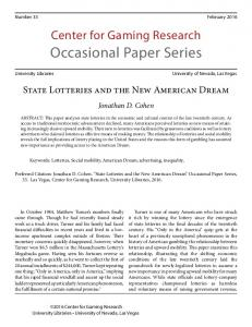 Occasional Paper Series