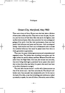 Ocean City, Maryland, May 1963