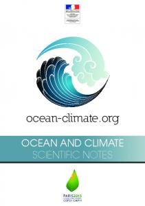ocean-climate.org OCEAN AND CLIMATE SCIENTIFIC NOTES