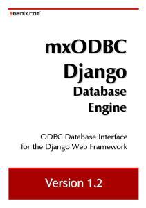 ODBC Database Interface for the Django Web Framework. Version 1.2