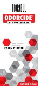 ODOR CONTROL SOLUTIONS PRODUCT GUIDE ODORCIDE.COM