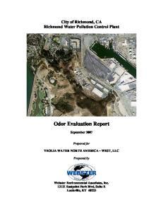 Odor Evaluation Report