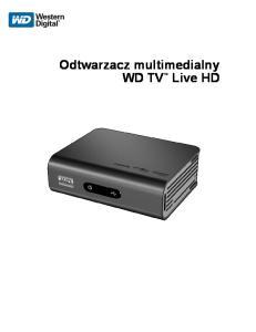 Odtwarzacz multimedialny WD TV Live HD