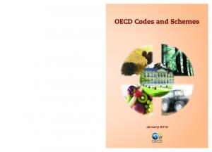 OECD Codes and Schemes