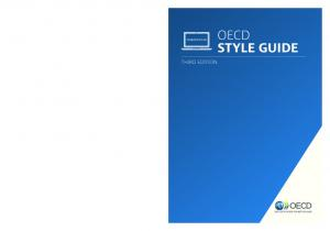 OECD STYLE GUIDE THIRD EDITION