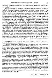 OENCIA, POSITIVISMO E IDENTIDAD NAOONAL EN EL CONO SUR 231