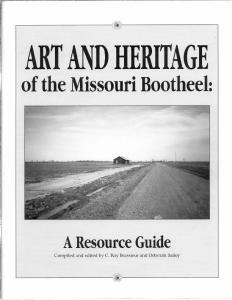 of the Missouri Bootheel: