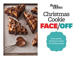 OFF. Most popular Christmas cookies for holiday baking! Fudge Ripple Turtle Brownies