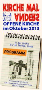 OFFENE KIRCHE im Oktober 2013