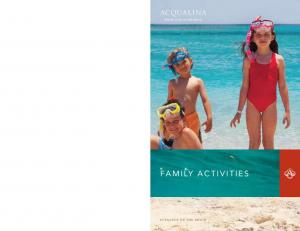 Offering a variety of on and off property activities, Acqualina Resort & Spa on the Beach is the perfect family getaway
