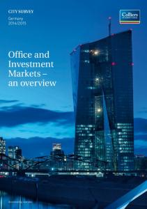 Office and Investment Markets an overview