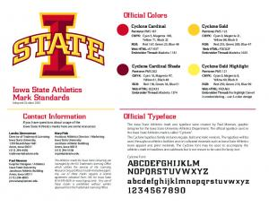 Official Colors. Cyclone Cardinal