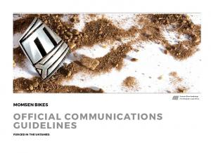 official Communications guidelines