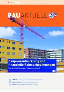 Offizielles Organ des Baugewerbeverbandes Schleswig-Holstein. Baupreisentwicklung und finanzielle Rahmenbedingungen