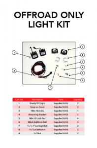 OFFROAD ONLY LIGHT KIT