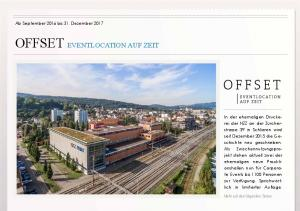 OFFSET EVENTLOCATION AUF ZEIT