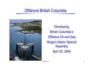 Offshore British Columbia