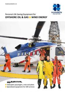 offshore oil & gas - wind EnErgy