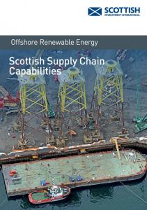Offshore Renewable Energy. Scottish Supply Chain Capabilities
