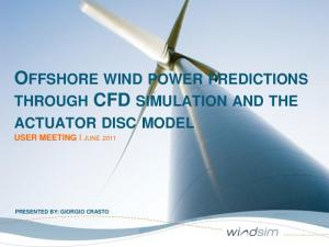 OFFSHORE WIND POWER PREDICTIONS