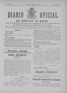 OFICIAL DEL MINISTERIO DE MARINA