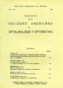 OFTALMOLOGIA y OPTOMETRIA