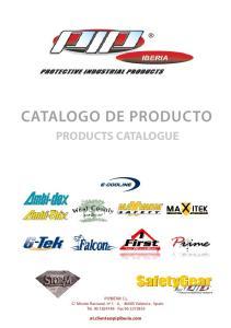 OGO DE PRODUC PRODUCTS CATALOGUE