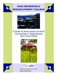 OHIO BROWNFIELD REDEVELOPMENT TOOLBOX