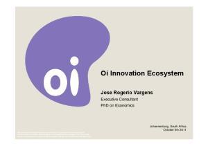 Oi Innovation Ecosystem
