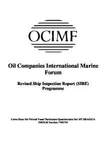 Oil Companies International Marine Forum