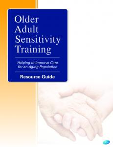 Older Adult Sensitivity Training