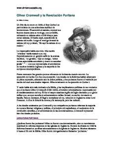 Oliver Cromwell y la Revolución Puritana