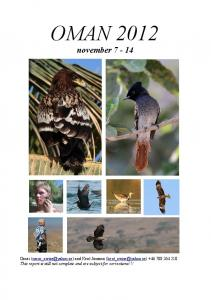 OMAN november 7-14