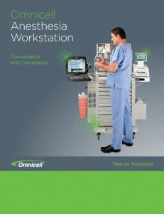 Omnicell Anesthesia Workstation