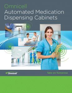 Omnicell Automated Medication Dispensing Cabinets