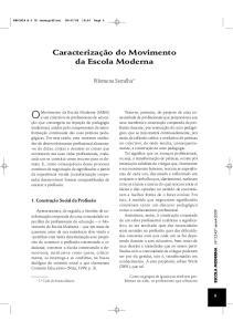 OMovimento da Escola Moderna (MEM)