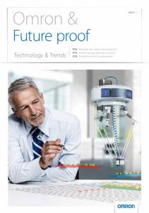Omron & Future proof. Technology & Trends P04. P10. P20