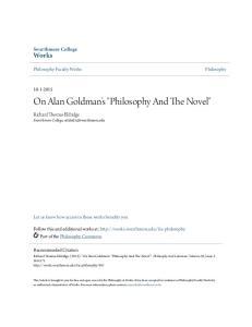 On Alan Goldman s