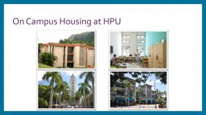 On Campus Housing at HPU