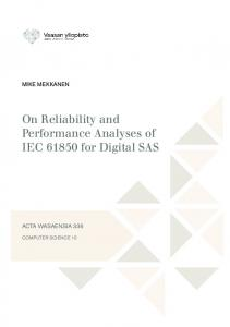 On Reliability and Performance Analyses of IEC for Digital SAS