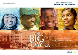 ON THE WAY TO SCHOOL LEARNING TO MAKE YOUR DREAMS COME TRUE PASCAL PLISSON FROM THE DIRECTOR OF A FILM BY MARIE TAUZIA AND JÉRÔME SEYDOUX PRESENT