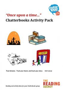 Once upon a time Chatterbooks Activity Pack