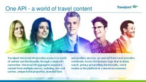 One API - a world of travel content