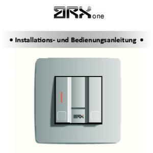 one Installations- und Bedienungsanleitung