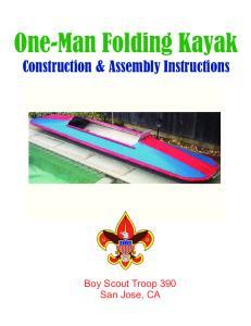One-Man Folding Kayak