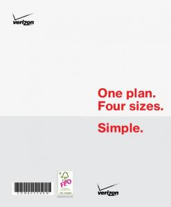 One plan. Four sizes. Simple