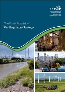 One Planet Prosperity - Our Regulatory Strategy